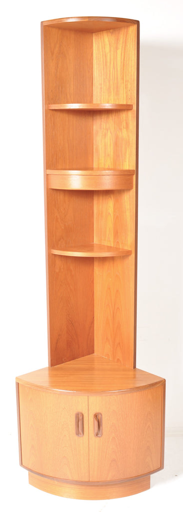 Mid-Century Modern Teak 'Fresco' Corner Hutch by G Plan Designed by Kofod Larsen, 1960s