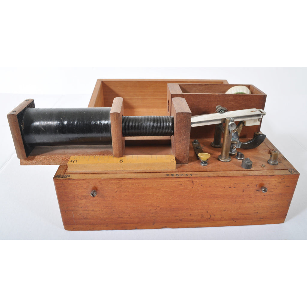 Antique Telegraph Morse Code Key, Circa 1890