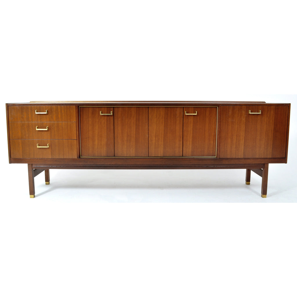 Mid-Century Modern Danish Style Credenza in Walnut by G Plan, 1960s