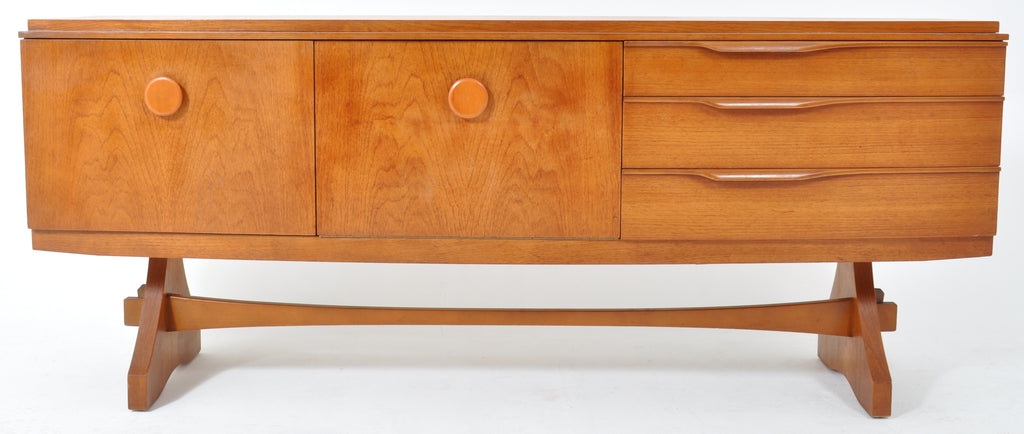 Mid-Century Modern Danish Style Teak Credenza by Beautility, 1960s