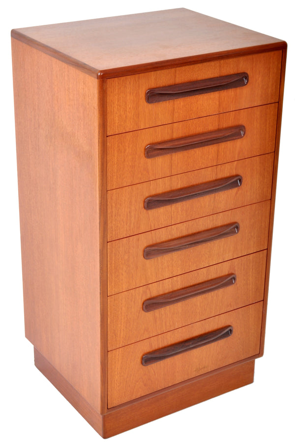 "Mid-Century Modern Danish Style Teak ""Fresco"" Chest of Drawers by G Plan, 1960s"