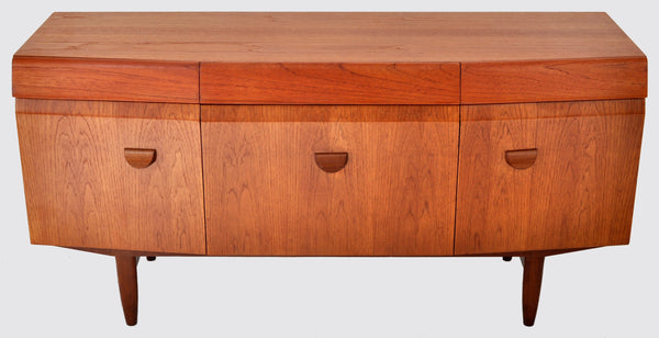 Mid-Century Modern Danish Style Teak Credenza by Elliotts of Newbury, 1960s