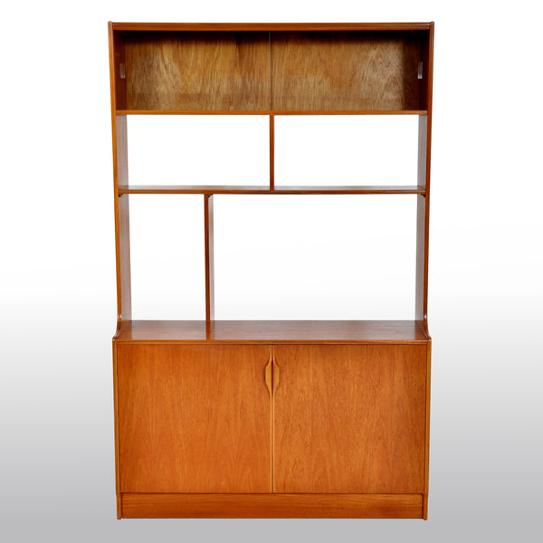Mid-Century Modern Danish Style Bookcase / Wall Unit in Teak by S Form, 1960s