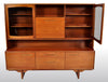 Mid-Century Modern Danish Style Twin Tier Credenza in Teak by Portwood, 1960s