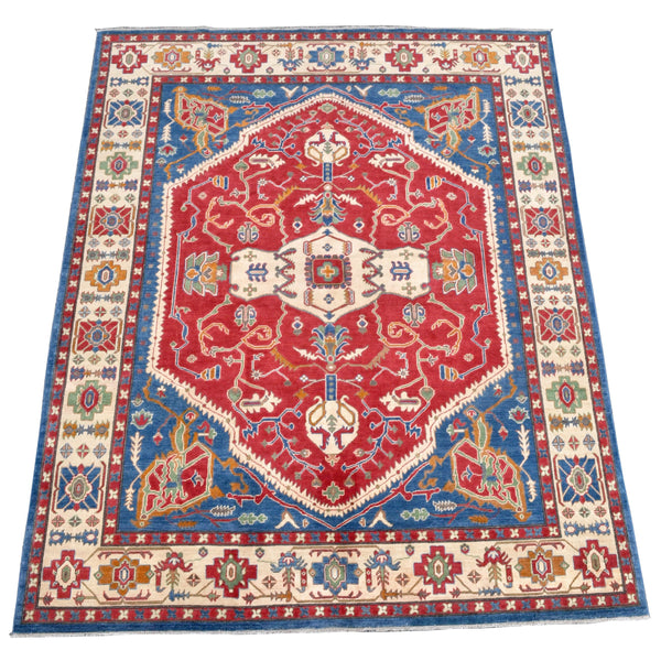 Vegetable Dyed Caucasian Kazak Carpet / Rug