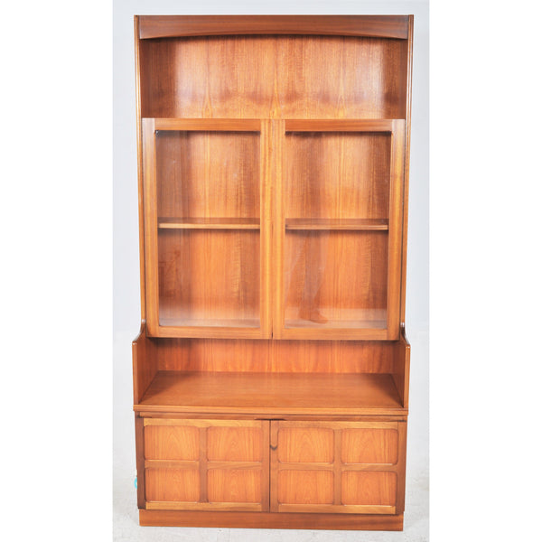 Mid-Century Modern Teak Danish Style Hutch/Wall Cabinet/Bookcase, 1960s