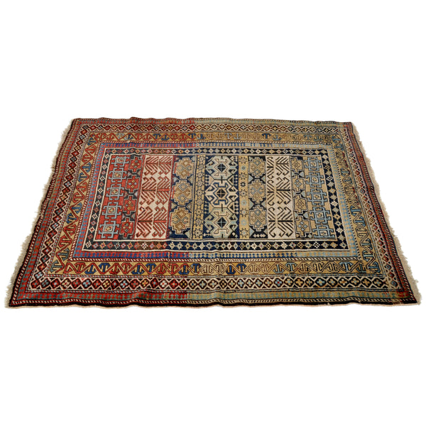 Fine Antique Caucasian Tribal Rug, Circa 1900