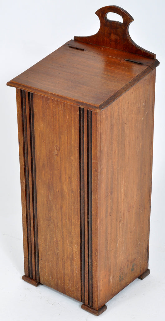 Antique 19th Century French Provincial Walnut Baguette Box, Circa 1890