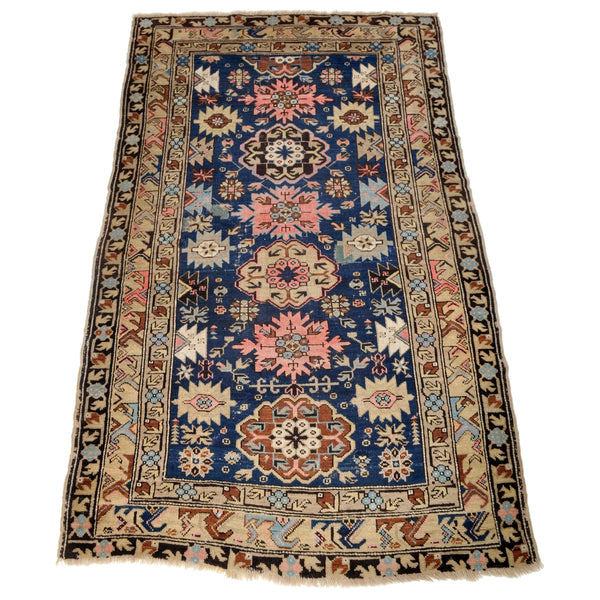 Antique Caucasian Tribal Rug, Circa 1900