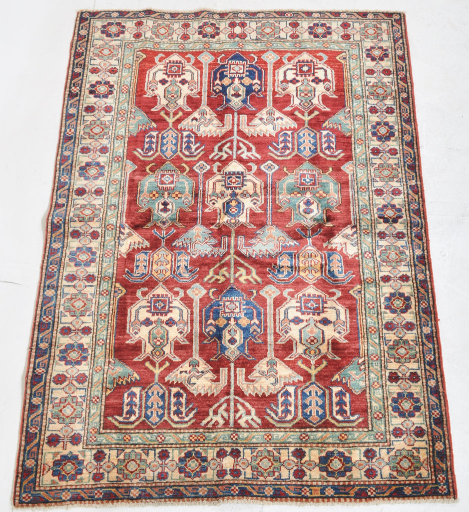Vegetable Dyed Kazak Rug