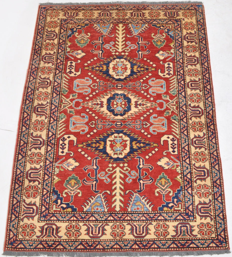 Vegetable Dyed Caucasian Style Kazak Rug