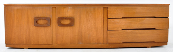 Mid-Century Modern Danish Style Teak Console/Credenza by Beautility, 1960s