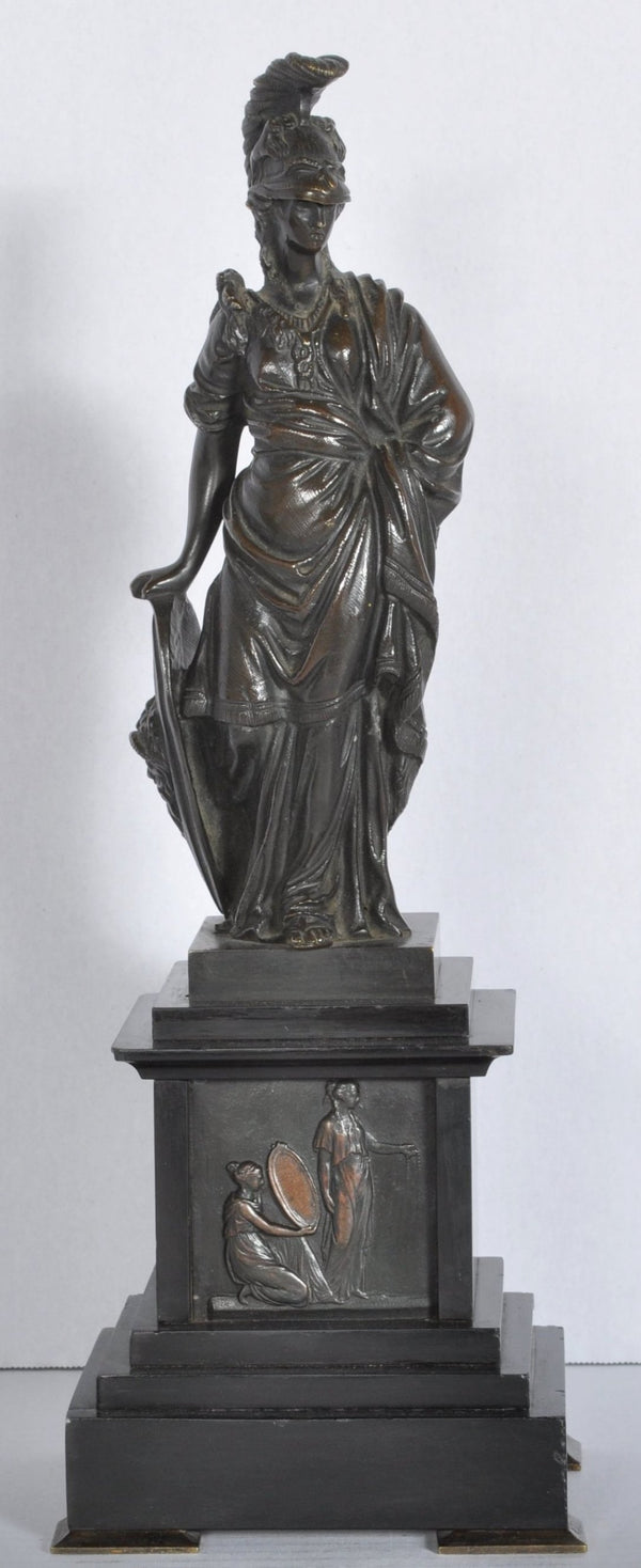 Bronze Neoclassical Statue of Minerva