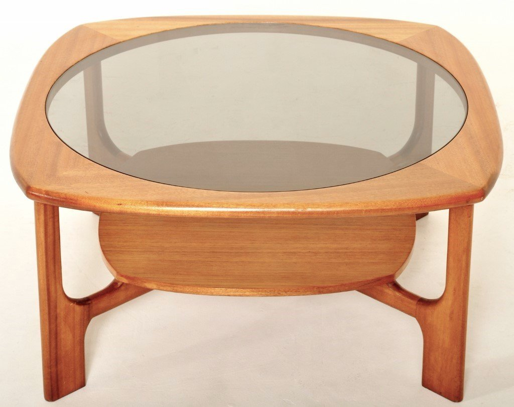 Mid-Century Modern Danish Teak Coffee Table, 1960s