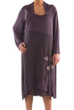 La Mouette Women's Plus Size Dress with Lace