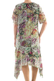 La Mouette Women's Plus Size Fun Summer Dress with Lace