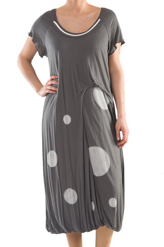 La Mouette Women's Plus Size Asymmetrical Tulip Dress
