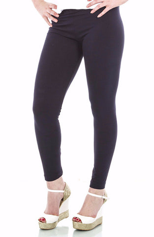 La Mouette Women`s Plus Size Plain & Casual Leggings