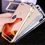 Luxury Soft Mirror Soft Silicon Phone Case
