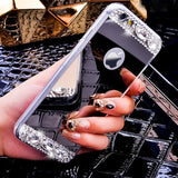 Diamond Bling Mirror iPhone Cases