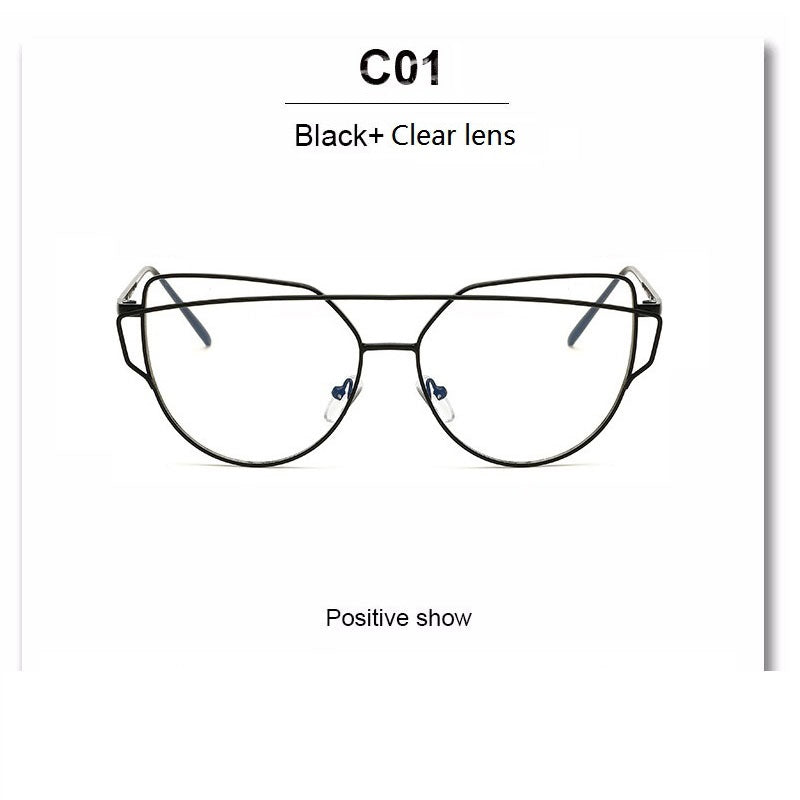 Cat Eye Glasses Frame Clear Fashion Glasses – AOAO COUTURE