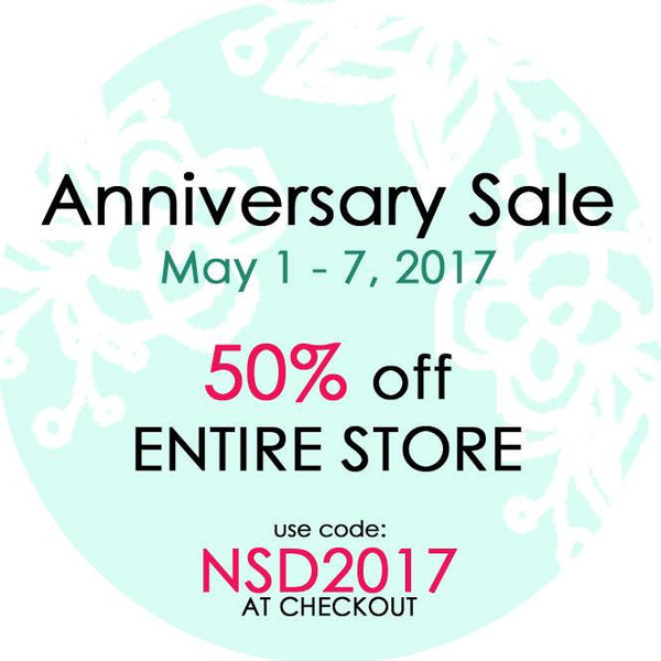 Just Nick Studio 2nd anniversary sale