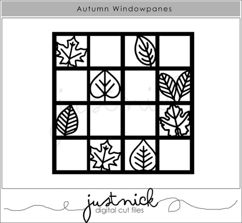 Autumn Windowpanes