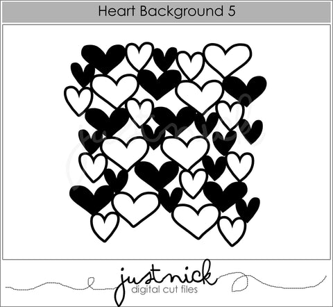 Heart Background 5