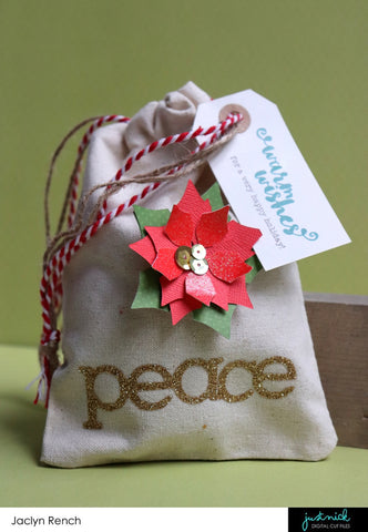 Peace Holiday Gift Bag Jaclyn Rench Justnick