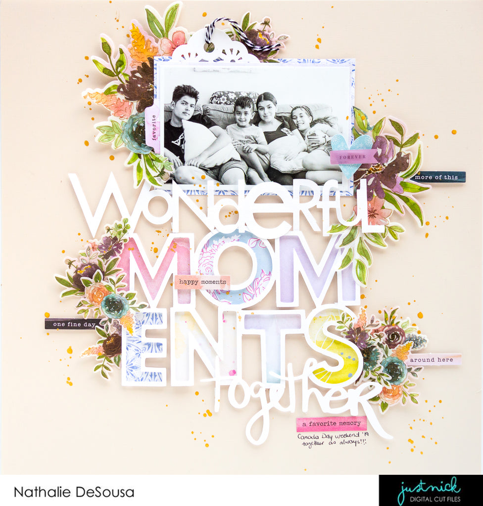 JUSTNICK STUDIO- Wonderful Moments Together by Nathalie DeSousa