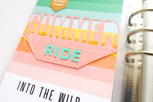 JustNick Studio, JustNick Cut Files, Summer, Traveler's Notebook, Patricia Roebuck