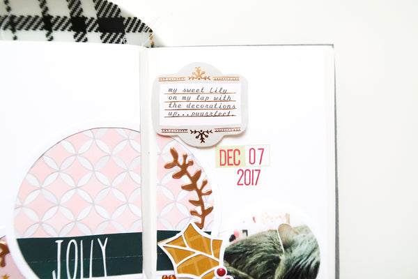 JustNick Studio, Cut Files, 12 Days of Giveaways, Holiday Circles, Travelers Notebook