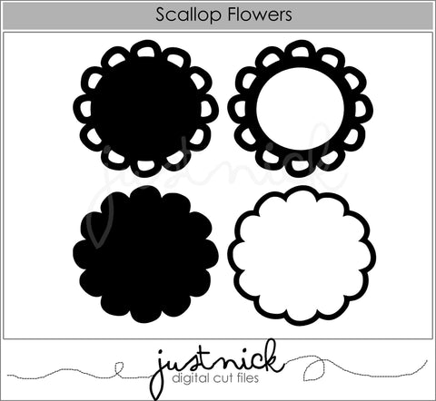 Scalloped Flowers