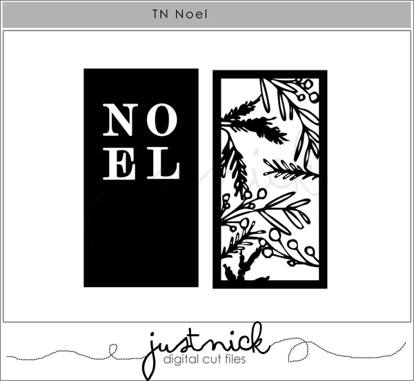 JustNick Studio, Cut Files, 12 Days of Giveaways, TN Noel