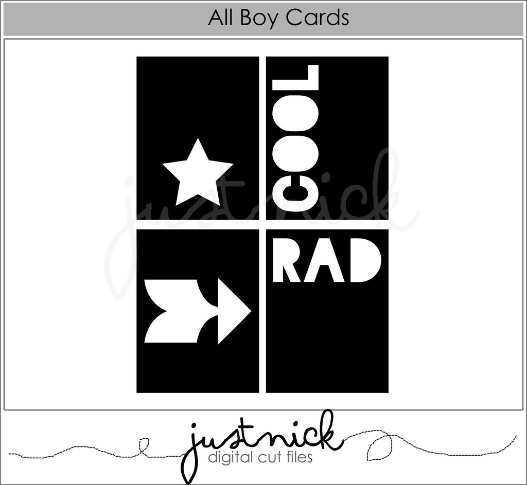 All Boy Cards