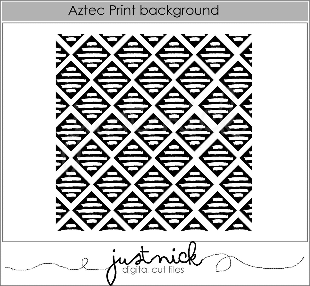 Aztec Print Background