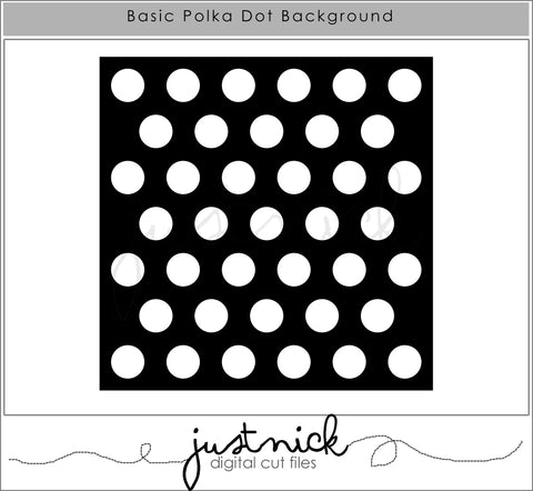 Basic Polka Dot Background