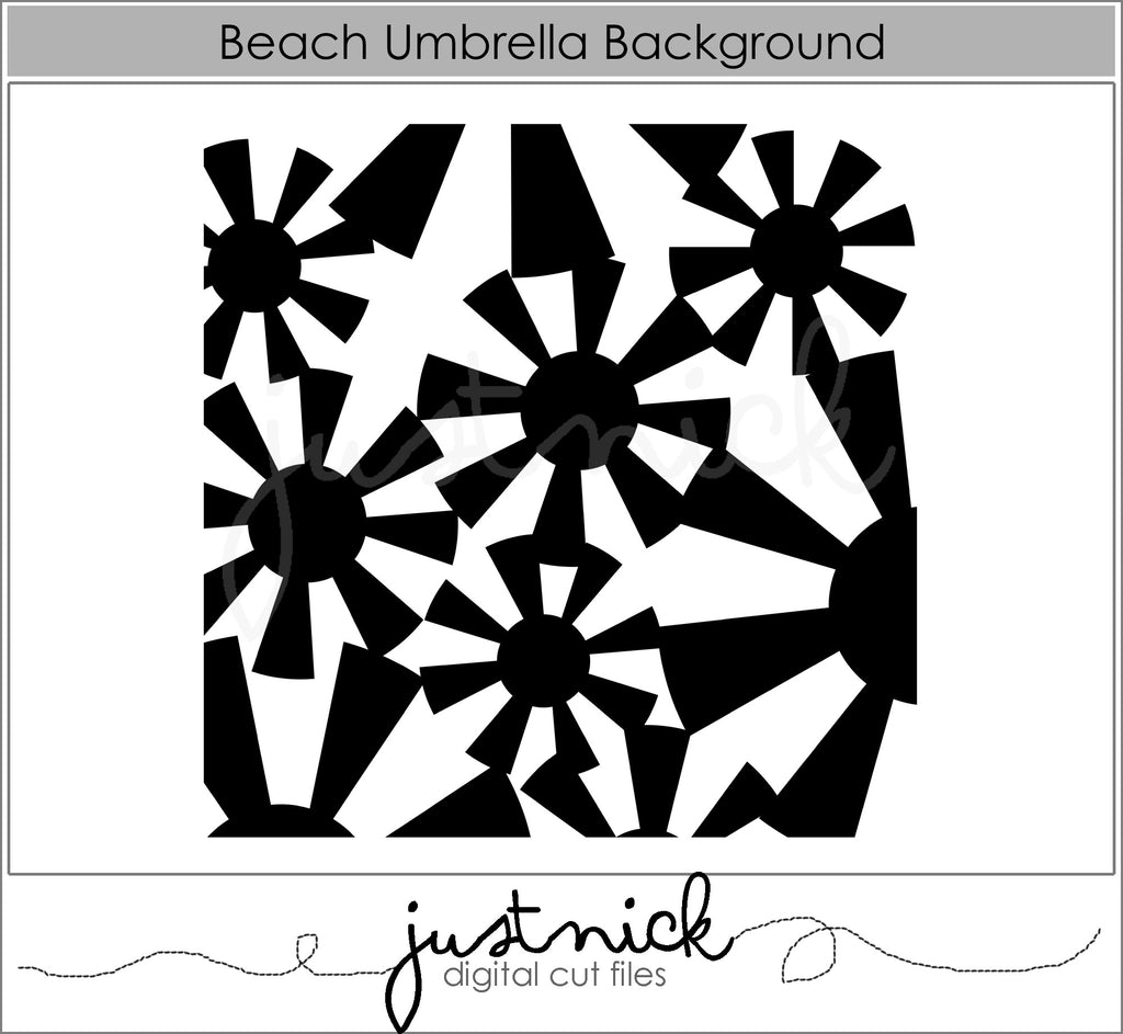 Beach Umbrella Background