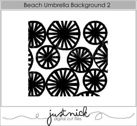 Beach Umbrella Background 2