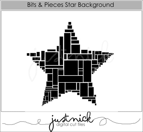 Bits and Pieces Star Background