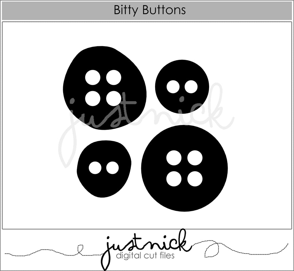 Bitty Buttons