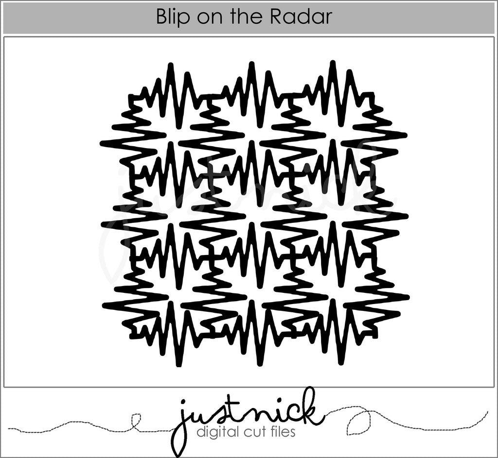 Blip on the Radar Background