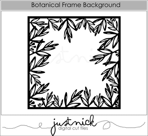Botancial Frame Background