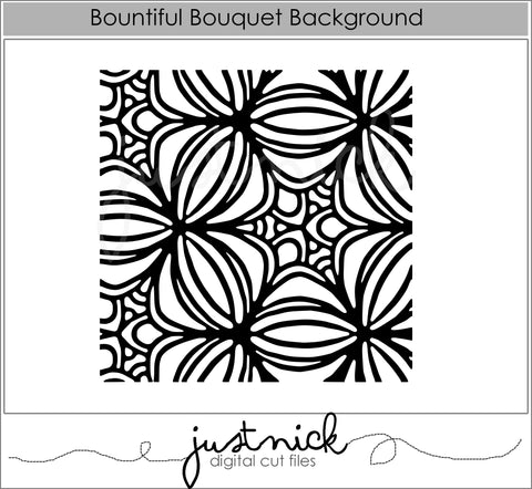 Bountiful Bouquet Background