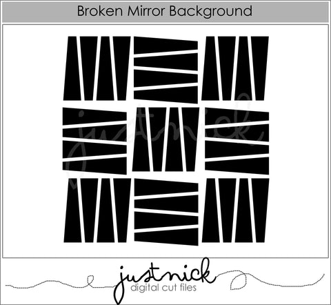 Broken Mirror Background