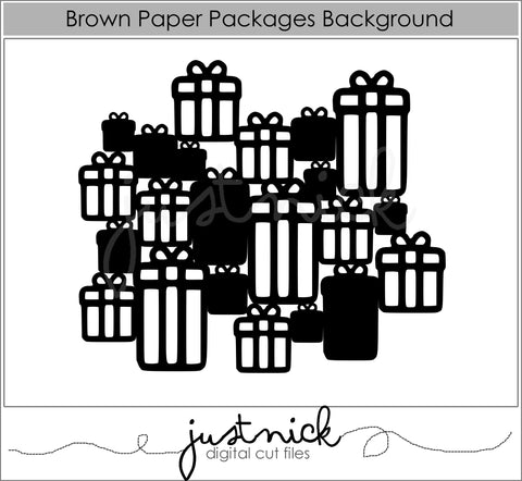 Brown Paper Packages Background