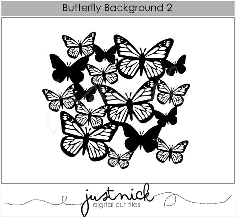 Butterfly Background 2