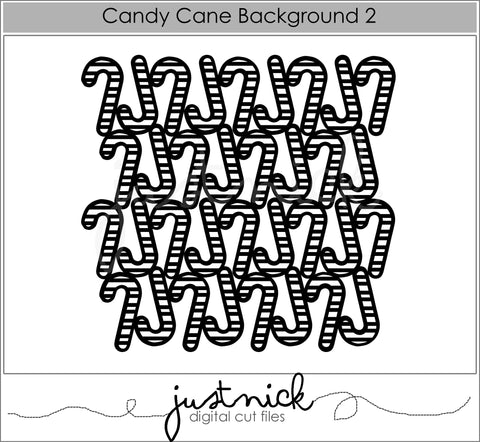 Candy Cane Background 3