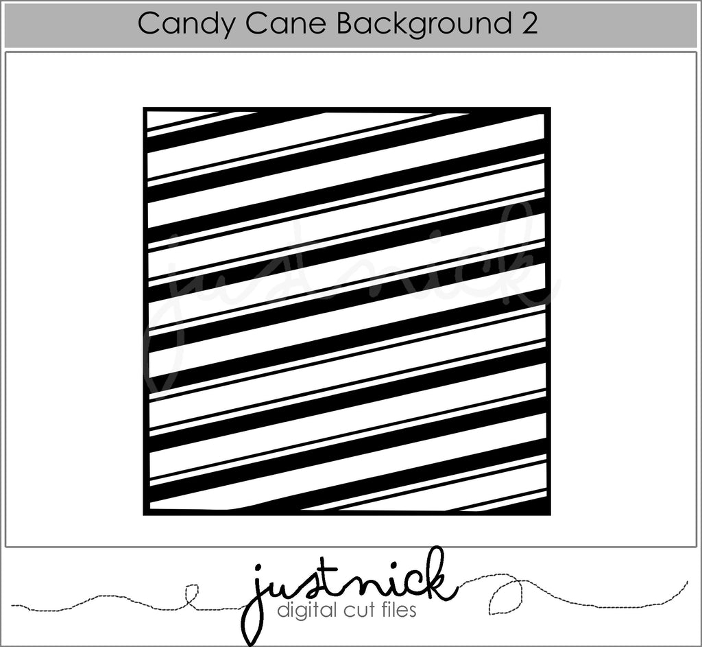 Candy Cane Background 2