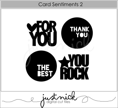 Card Sentiments 2